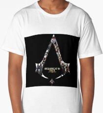 Assassins creed characters Long T-Shirt