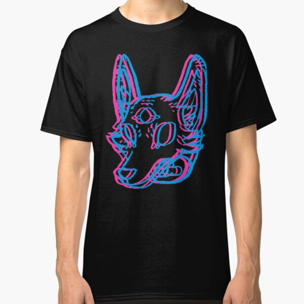 3D Space Coyote Classic T-Shirt