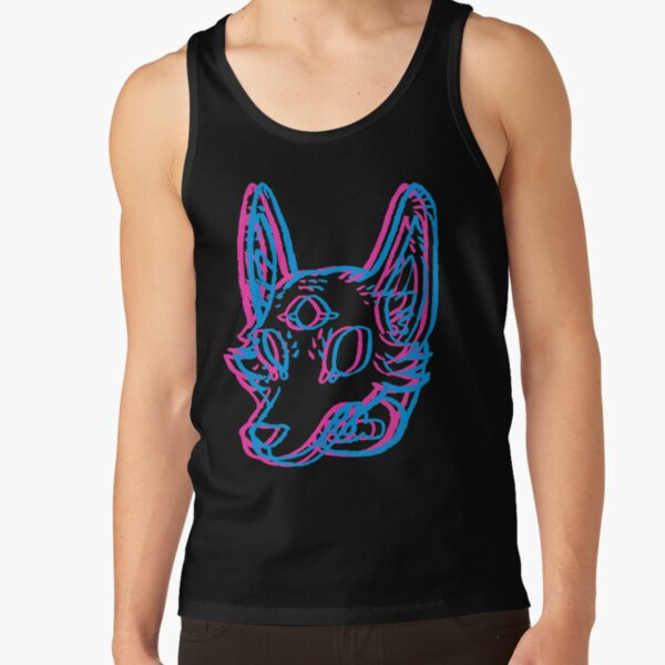 3D Space Coyote Tank Top
