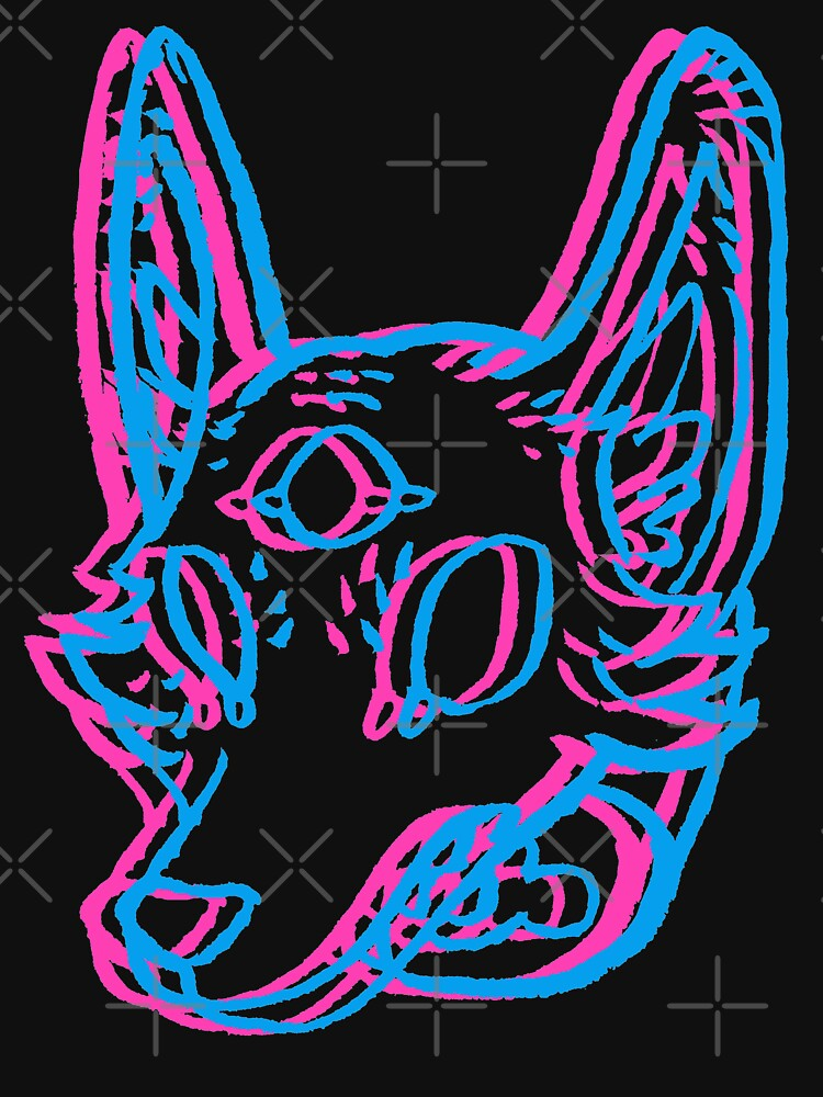 3D Space Coyote by HiddenStash