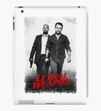 lethal weapon - the funny detective tv series iPad Case/Skin