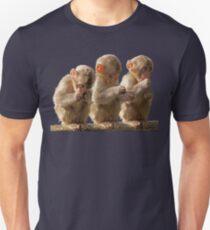 Three little monkeys Unisex T-Shirt