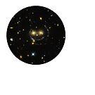 ESA Hubble smiley Face. by albutross