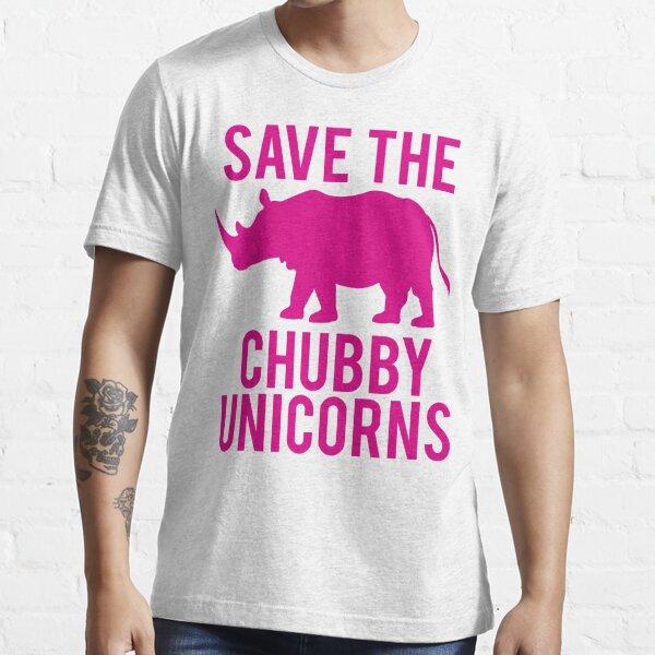 SAUVEZ LES UNICORNES DE CHUBBY T-shirt essentiel