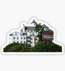 chateau marmont Sticker