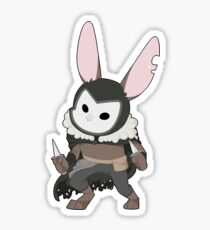 The Cunning Bunny Rogue Sticker