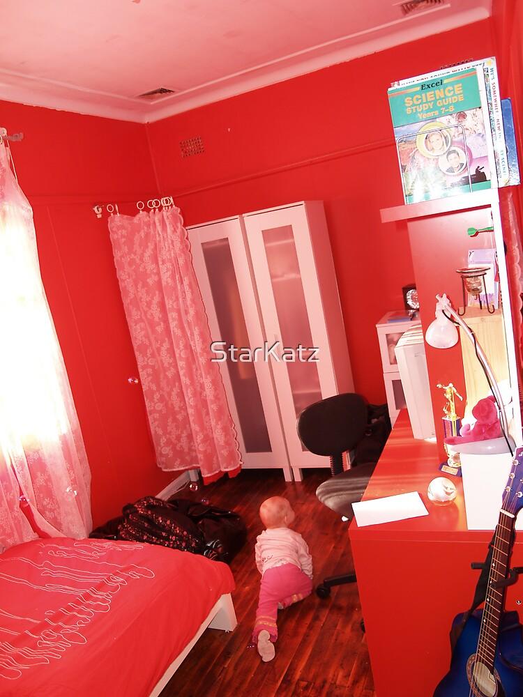 The new bedroom.. teen cool by StarKatz