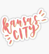 bouncy brush - kansas city Sticker