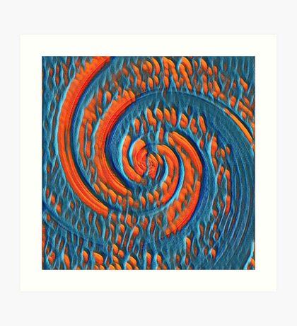 Broken Fibonacci Art Print