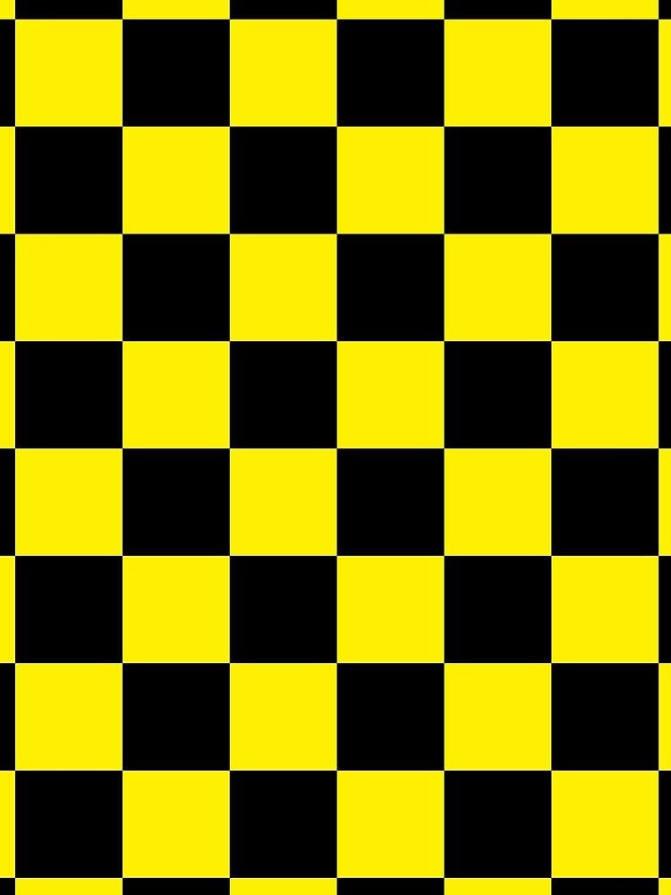 black yellow checkered by Falko-Follert