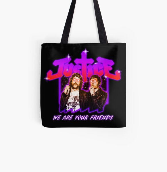 Justice Bootleg All Over Print Tote Bag