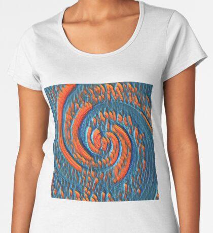 Broken Fibonacci Premium Scoop T-Shirt