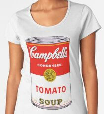 andy warhol campbell's soup can phone case Women's Premium T-Shirt