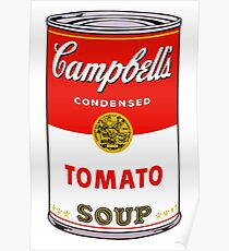 andy warhol campbell's soup can phone case Poster