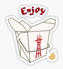 Enjoy Twin Peaks Sticker