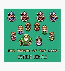 Link to the Past - The Return of the King Photographic Print