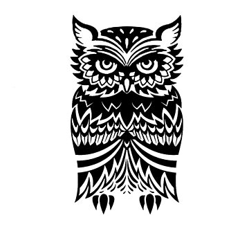 Tribal Owl by revoltz