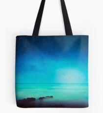 Silent Mediterranean Sea Tote Bag