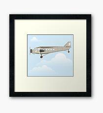Vintage airplane Framed Print