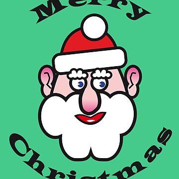 Christmas Santa Claus, Merry Christmas by RaSch