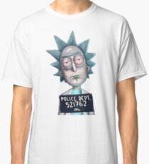 Rick n Morty Mugshot Classic T-Shirt