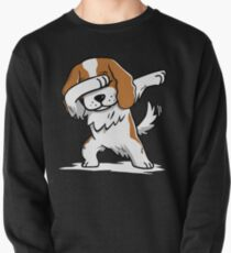 Dabbing Cavalier King Charles Spaniel Funny Pullover
