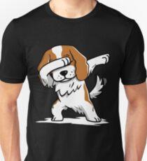 Dabbing Cavalier King Charles Spaniel Funny Unisex T-Shirt