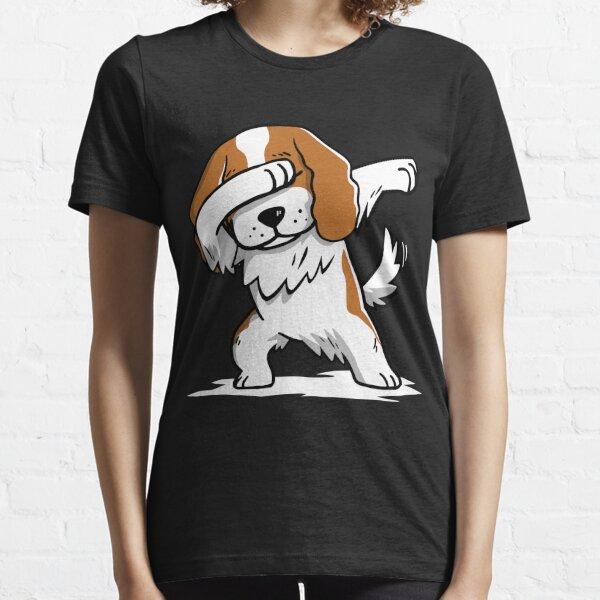 Dabbing Cavalier King Charles Spaniel Funny Essential T-Shirt