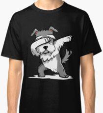 Camiseta clásica Dabbing Schnauzer Funny
