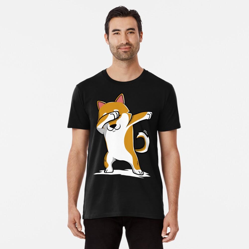 Tuibing Shiba Inu Lustig Premium T-Shirt