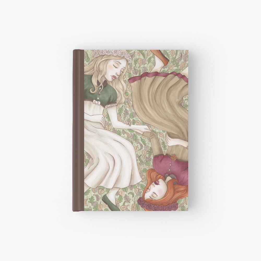 Snow White and Rose Red Hardcover Journal