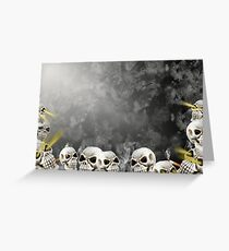 Abyss Of Death Greeting Card