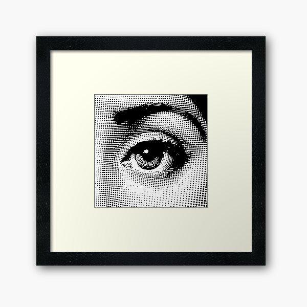 Lina Cavalieri - left eye Framed Art Print