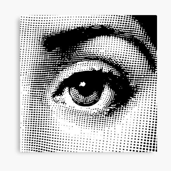 Lina Cavalieri - left eye Canvas Print