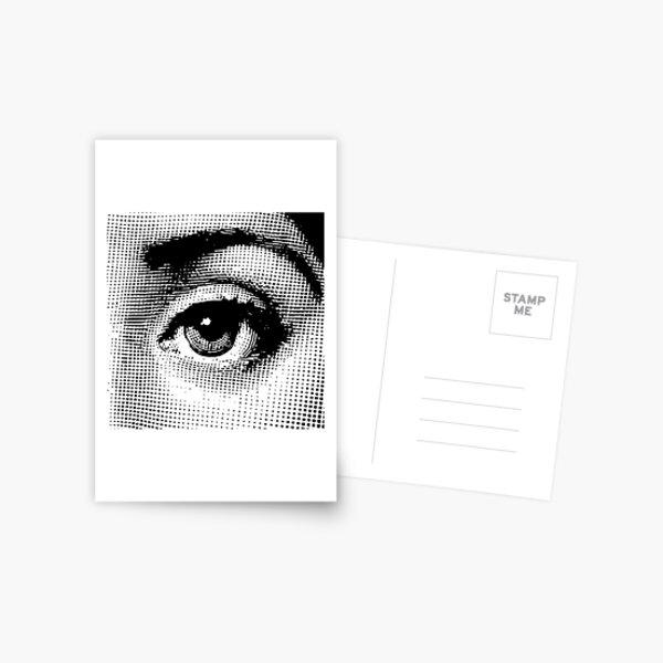 Lina Cavalieri - left eye Postcard