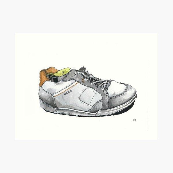 Ecco Trainer Art Print