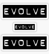 EVOLVE Sticker
