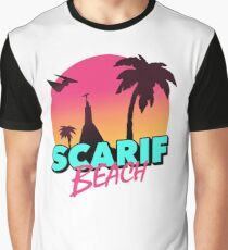 Scarif Beach Graphic T-Shirt
