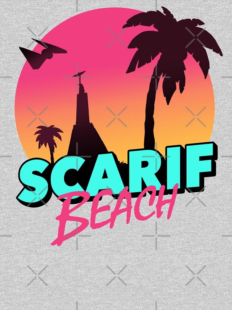 Scarif Beach by GlewPrint