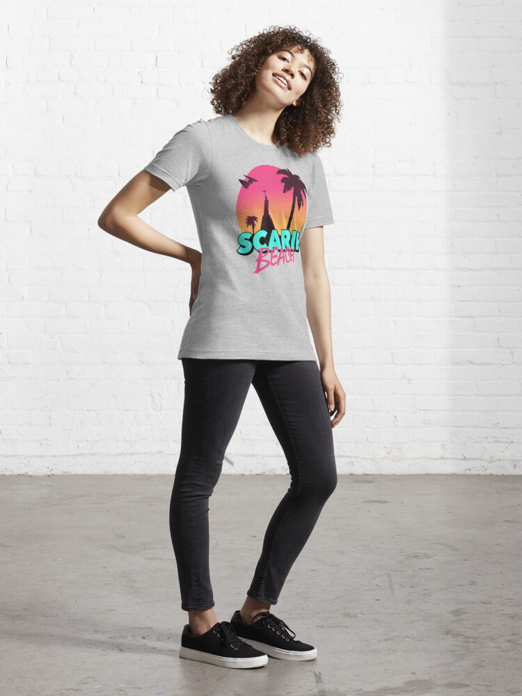 Alternate view of Scarif Beach Essential T-Shirt