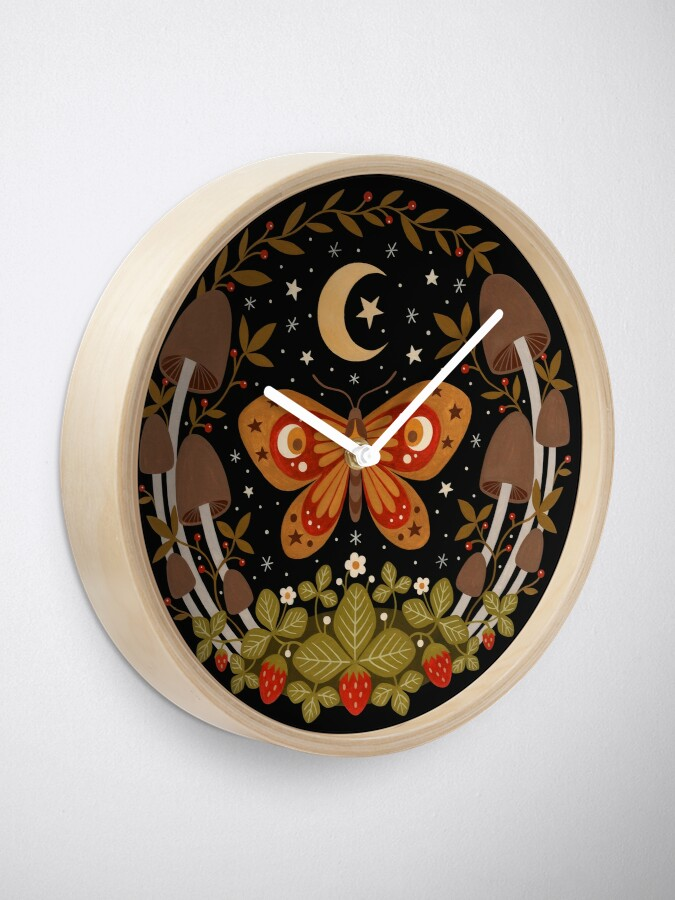 Alternate view of The king of tiny kingdoms Clock