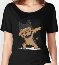Dabbing Yorkshire Terrier Funny Yorkie Women's Relaxed Fit T-Shirt