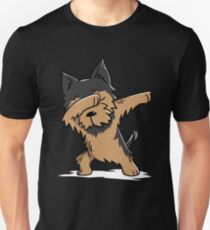 Dabbing Yorkshire Terrier Funny Yorkie Unisex T-Shirt