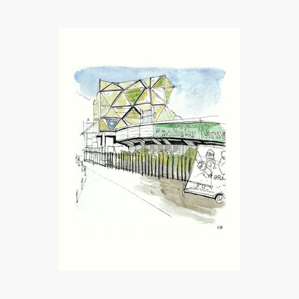 Headingley Carnegie, Leeds Art Print