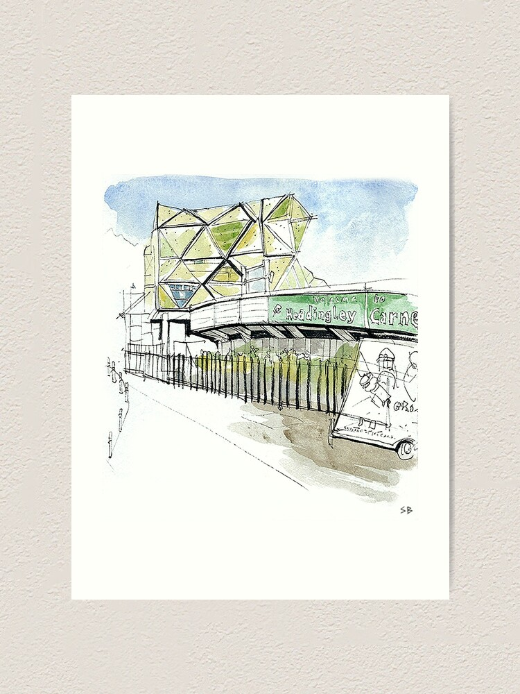 Alternate view of Headingley Carnegie, Leeds Art Print
