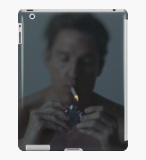 Time is a flat circle iPad Case/Skin