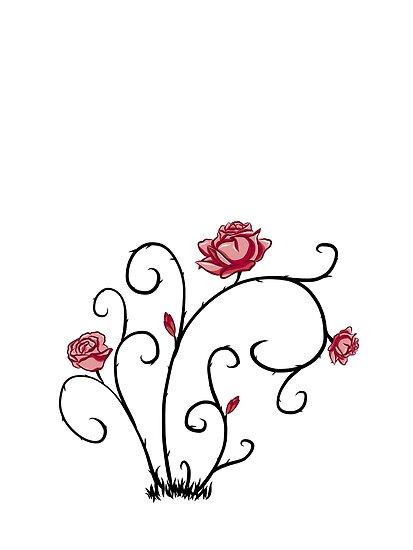 Rose plant by emilyparkin