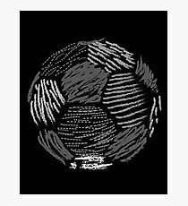 Soccer ball Photographic Print
