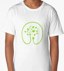 Powered by plants. Vegan Philosophy Long T-Shirt