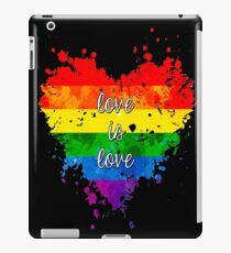 Vinilo o funda para iPad El amor es el amor